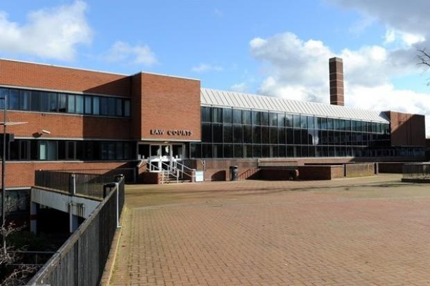 03-11-2012...Crewe, Cheshire...Where in the world. ..Crewe Magistrates Court  (Law Court).
