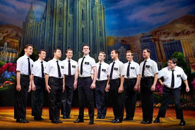 The Book of Mormon is at Manchester's Palace Theatre until August 24. Visit atgtickets.com. Picture: Paul Coltas