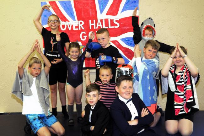 Children celebrate their gifts and skills at Over Hall's Got Talent