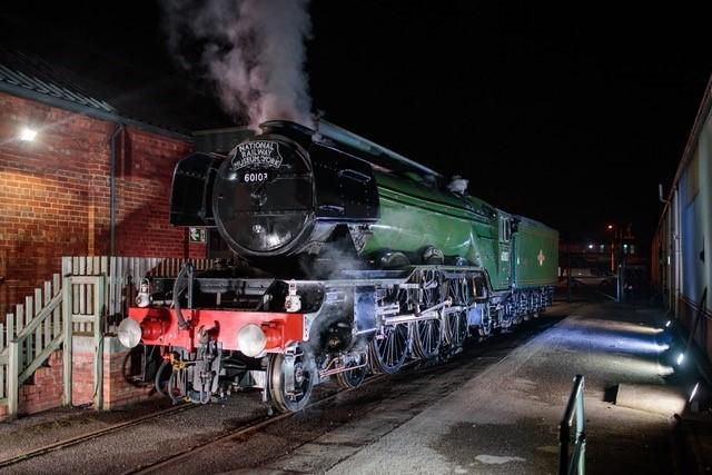 Trainspotters and photographers warned not to risk their lives trying to get pictures of Flying Scotsman thundering through Winsford Picture: Jody Hartlet
