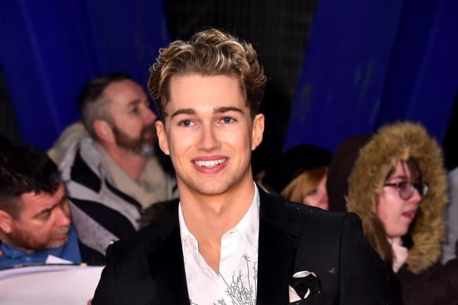 AJ Pritchard, who described his brother Curtis's dance moves as 'scarring'