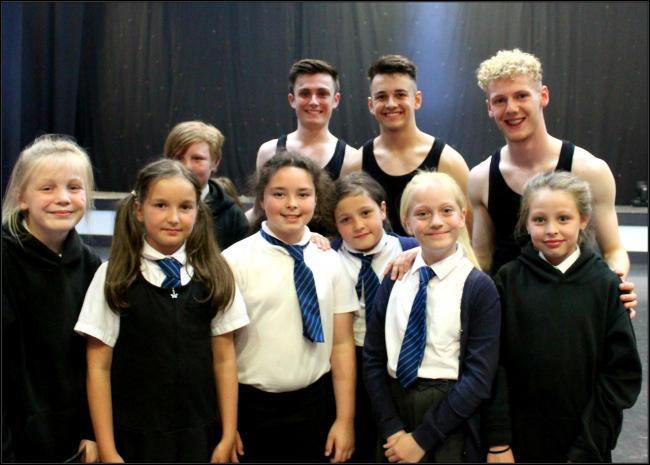 Inspirational dance performance leaves children spellbound
