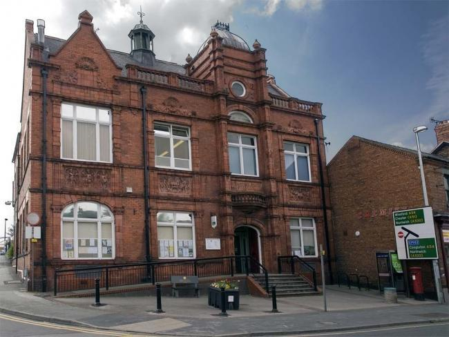 Middlewich Town Council. Victoria Building