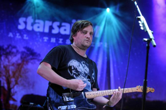Starsailor perform in front of the Warrington crowd