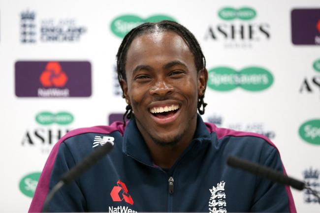 Jofra Archer seemed laid-back at his press conference