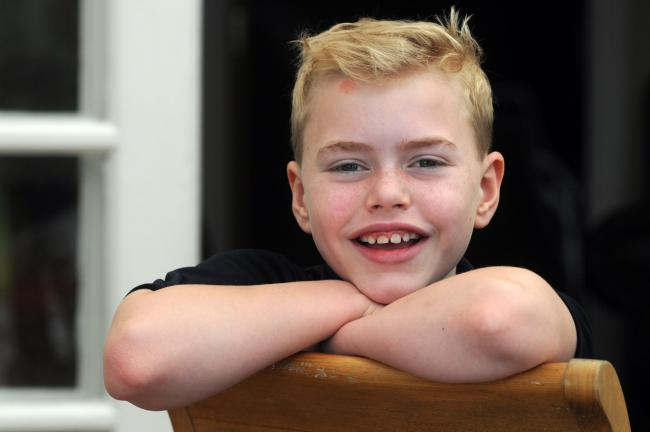 Heart transplant champion Max Johnson moved people to tears describing how his life was saved by a young schoolgirl he never met