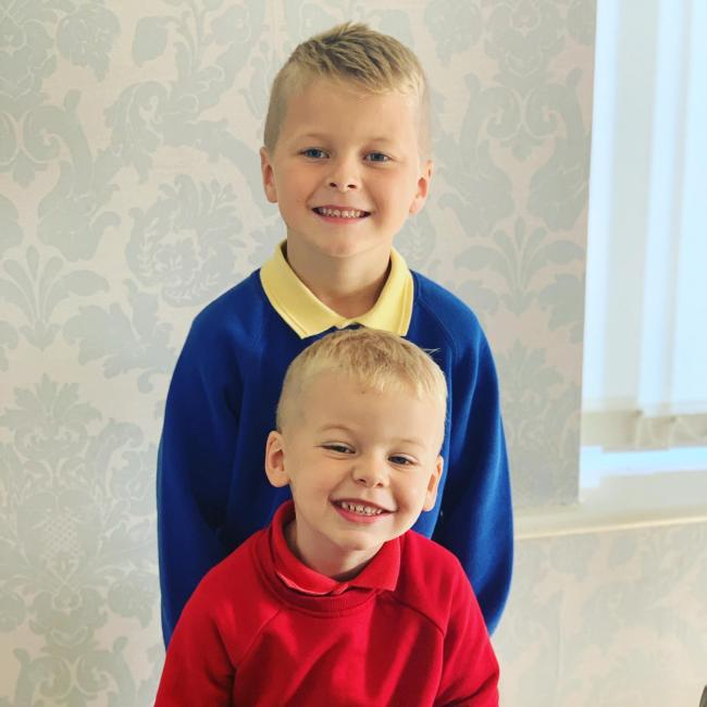 Oliver and Harry Jackson  Wharton cOfE primary and start well learning