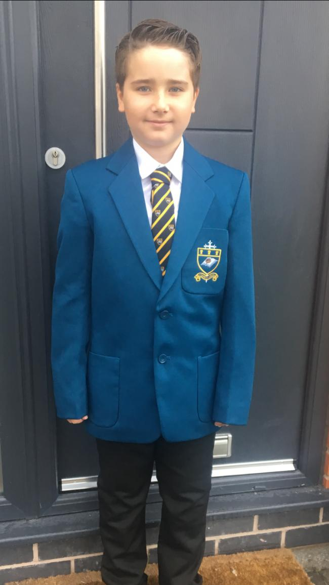 Tommy fallon-williams starting high school at st nicks  Darcie fallon-Williams year 2 st bedes .