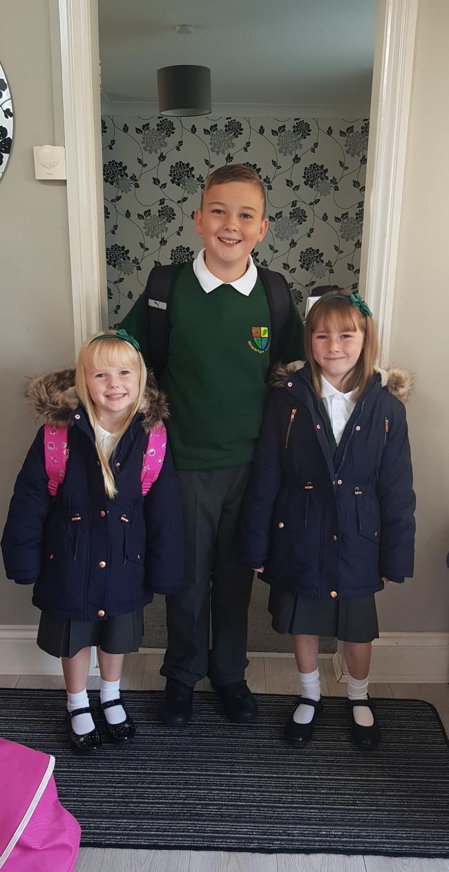 Benjamin, Kaira-Leigh & Ellie-Rae Of Into Year 6, Year 3 & Year 1 Weaverham Forest Primary School