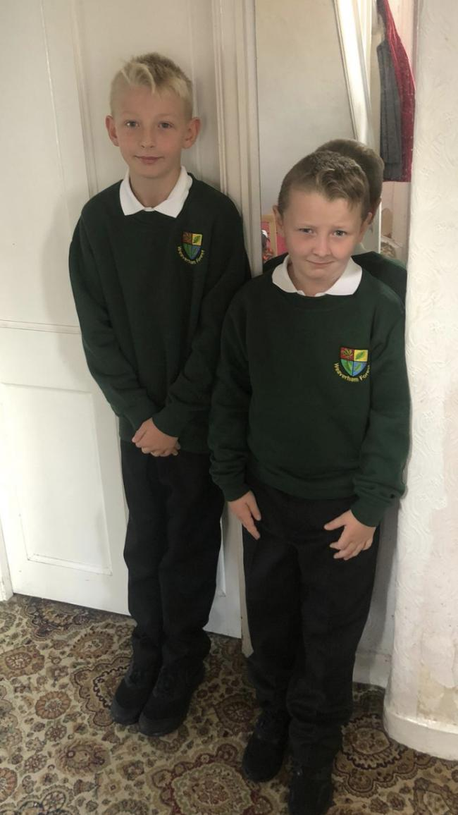 Lewis evans year 6 and ole Evans year 3 Weaverham forest primary school