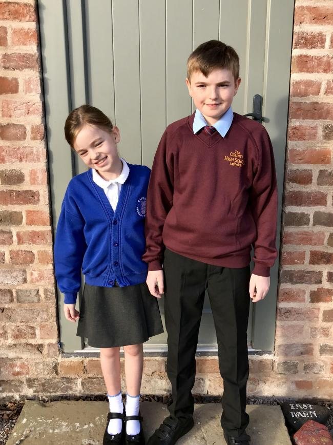 Eleanor and Thomas Burn Y3 Sandiway Primary and Y7 Leftwich County High