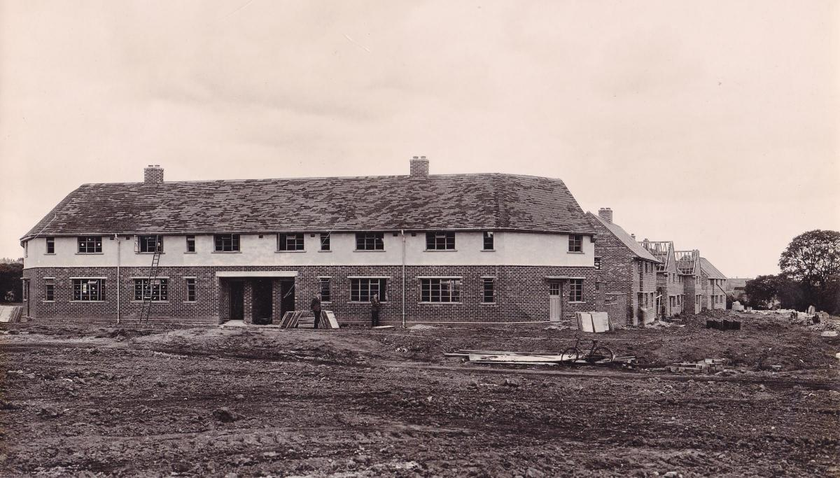How the Dene Estate in Winsford came to be built | Winsford