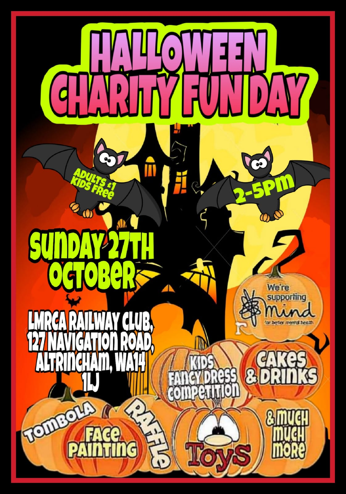 HALLOWEEN CHARITY FUNDAY