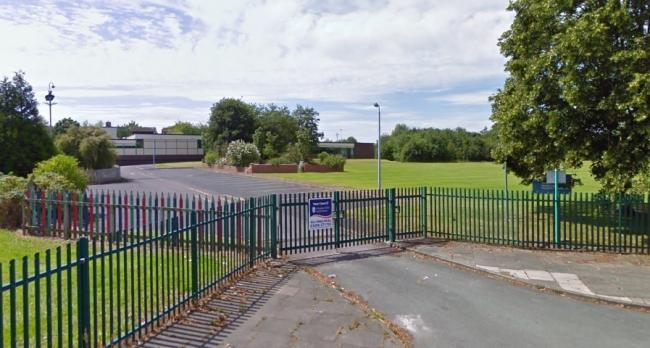 Handley Hill Primary School prior to demolition. Image: Google Maps