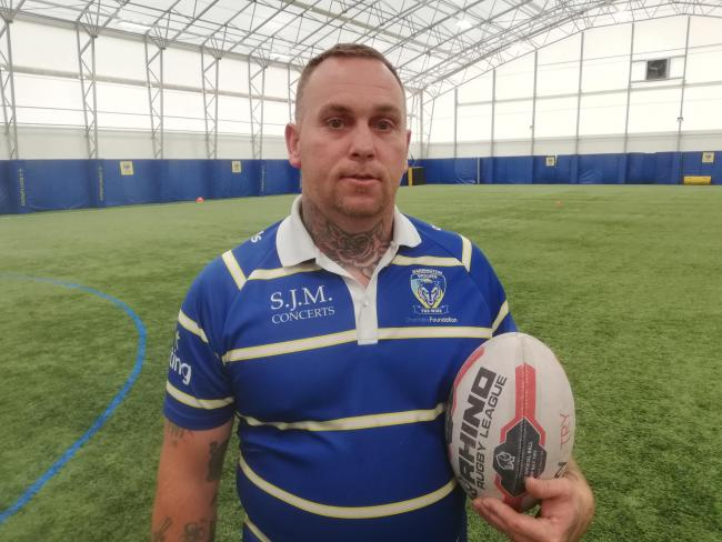 Winsford dad Wayne Cox who feared he would never play on the pitch again has joined a physical disability rugby league team