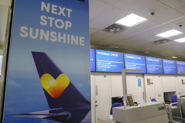 Hopes 100,000 Thomas Cook bookings will be refunded in next 14 days. Pic credit: PA