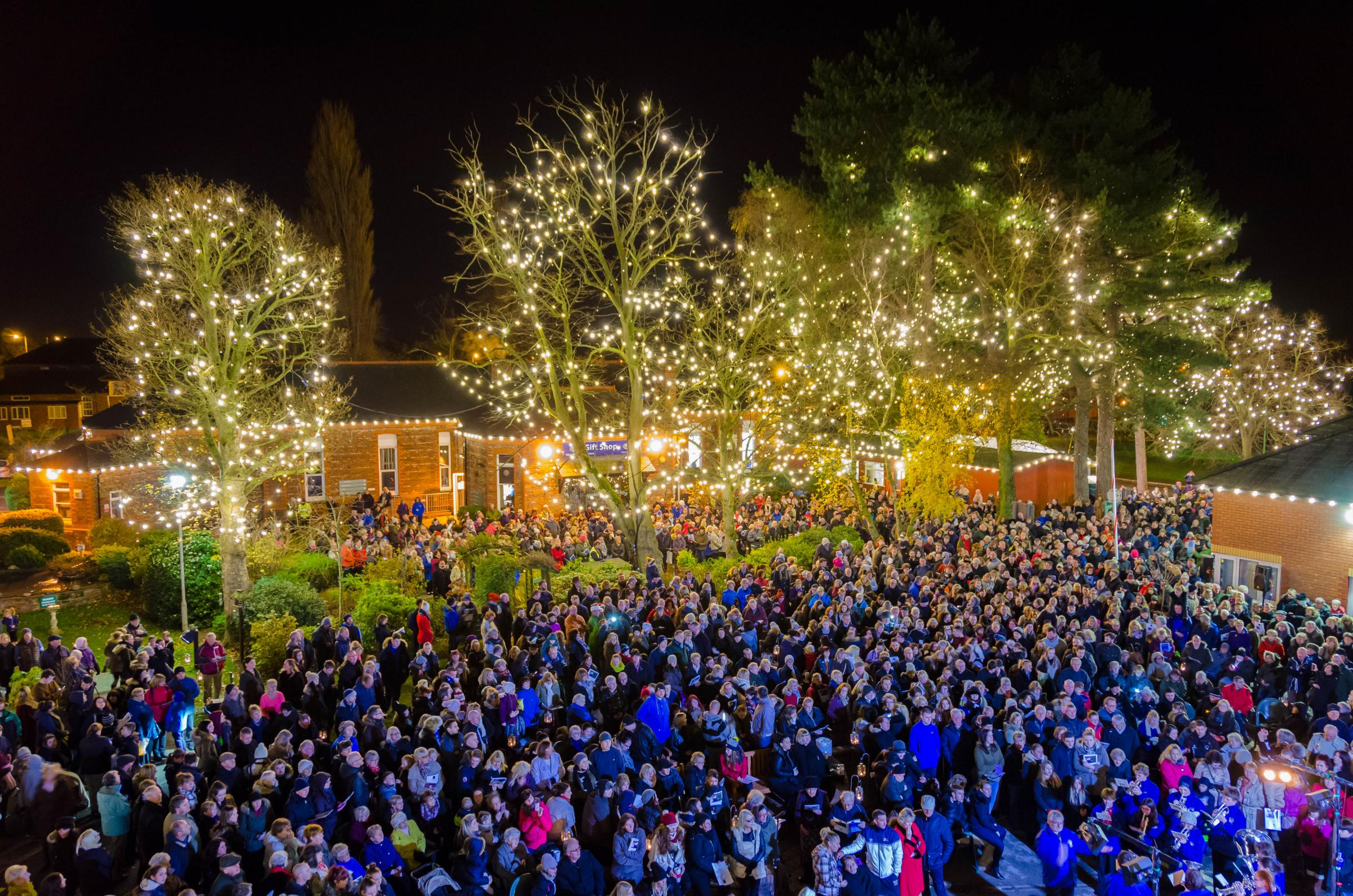 Wirral Hospice St John's Light up a Life