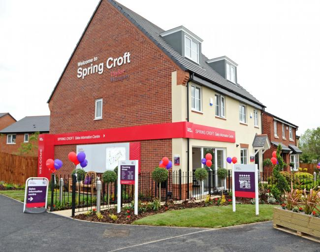 Show homes reopen at Taylor Wimpey's Spring Croft development in Winsford