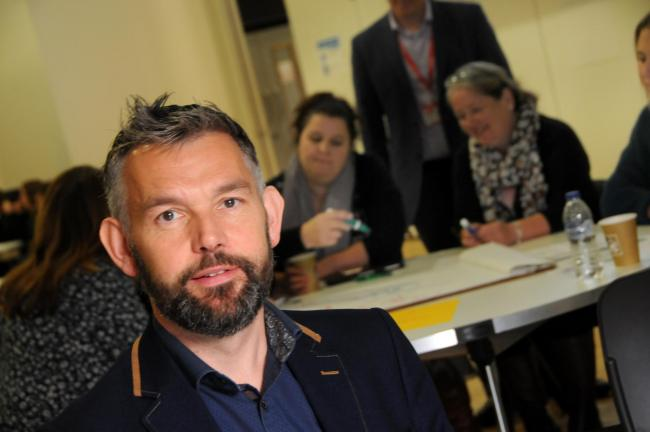 Winsford GP Dr Jonathan Griffiths ran a pioneering event to encourage people who live and work in Winsford to come up with new ways to encourage people to quit smoking
