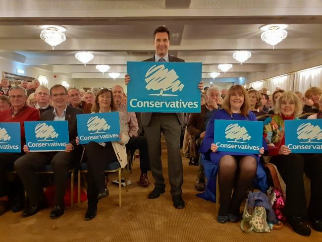 Ed Timpson, Conservative candidate for Eddisbury