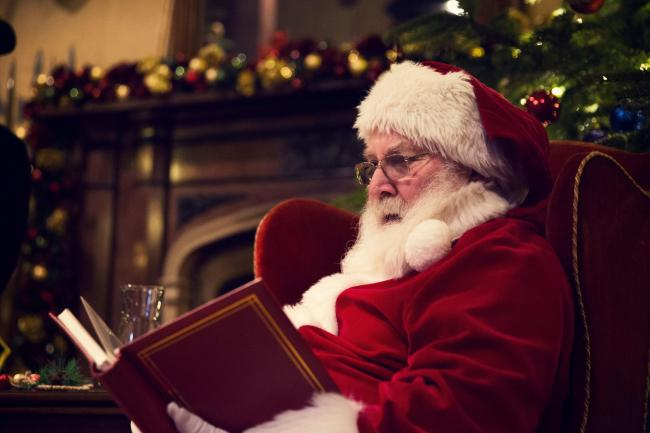 Father Christmas will be in his grotto at a festive fair in aid of Queen Street United Reform Church in Middlewich