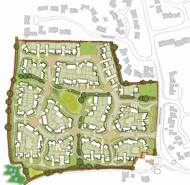 Plans put forward for the development from Darnhall Estate