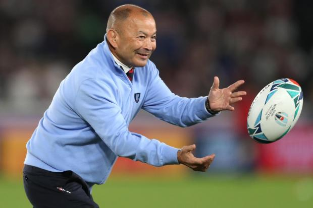England head coach Eddie Jones has a contract with the RFU until 2021