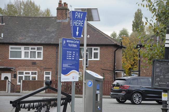 Northwich parking charges