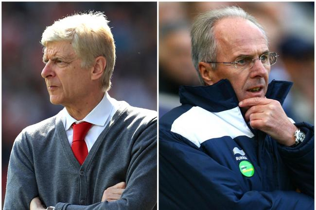 Aersene Wenger and Sven-Goran Eriksson could be getting a call from Freddie Ljungberg
