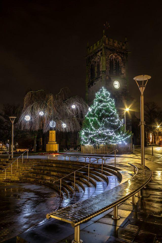 Everyone is invited to a festive community singalong at The Bull Ring in Middlewich at 5.30pm on Christmas Eve