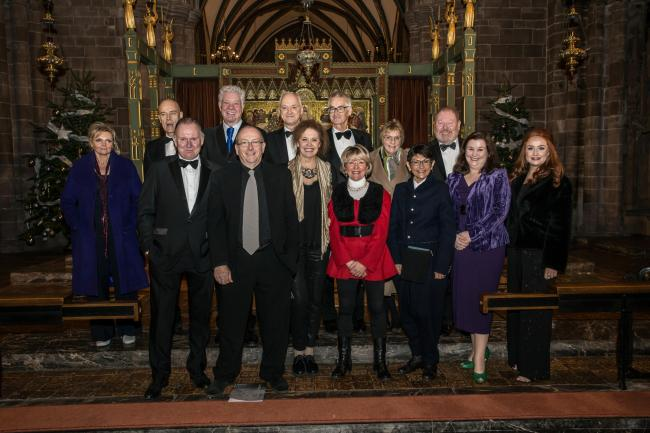 Celebrity readers Sharon Small, Robert Glenister, Matthew Kelly, Rupert Frazer, Kate Fahy, Roger Phillips, Helen Atkinson Wood, Malcolm Sinclair, Shelley King, Ian Bartholomew, Patti Clare, Selina Cadell and soloist soprano Holly Teague