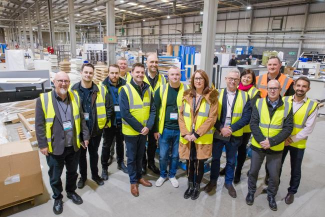 Business leaders gained valuable new digital skills after visiting companies, including Veka, who are already adopting digital technology to test new ideas