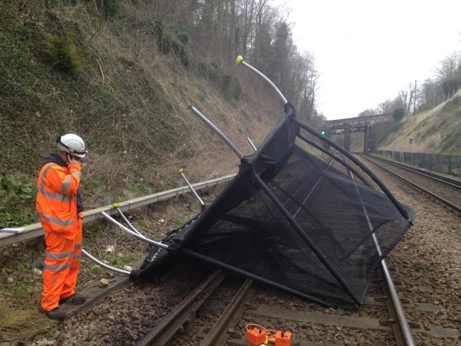 Storm Ciara sees speed cut on train lines as passengers warned against travelling