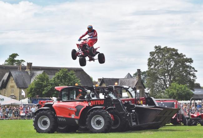 The Quad Bike Stunt Show
