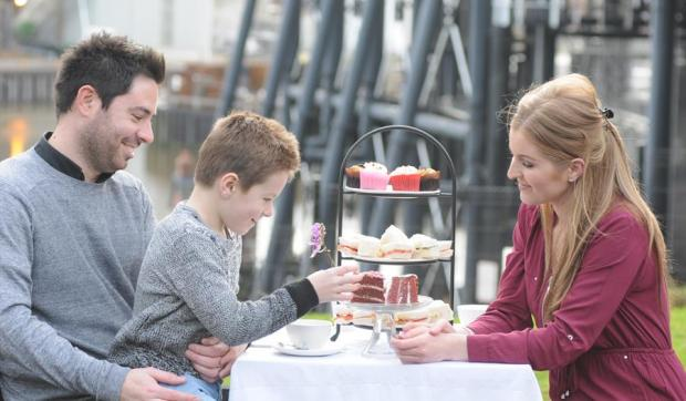 Winsford Guardian: Tie in a high tea with a boat trip on the River Weaver