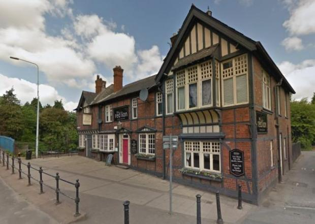 Winsford Guardian: Music and marvellous meals at The Red Lion, just for mum! (picture courtesy of Google maps)