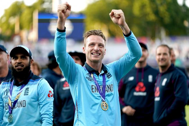 Jos Buttler is auctioning his World Cup-winning shirt to raise funds for Royal Brompton Hospital