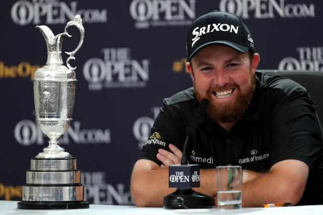 Shane Lowry will not be able to defend his trophy this year