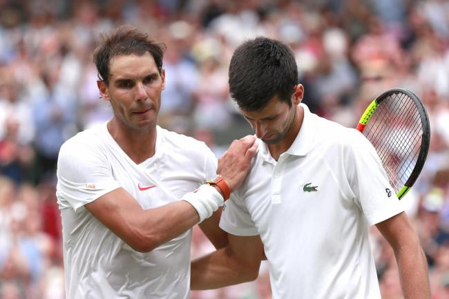 Rafael Nadal, left, and Novak Djokovic are possible entrants in the virtual Madrid Open (Andrew Couldridge/PA)