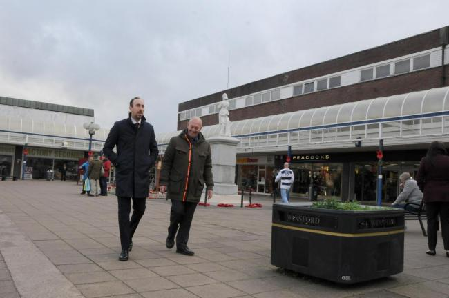 Winsford town centre is among the key areas that the council will be focusing on