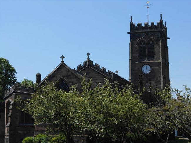 St Michael's Church in Middlewich
