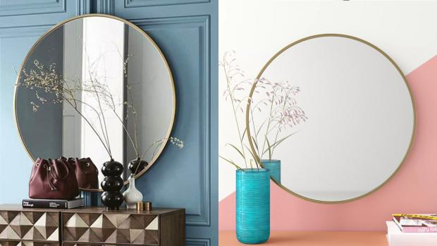 Winsford Guardian: A bigger, more modern mirror will create the illusion of more space. Credit: Wayfair