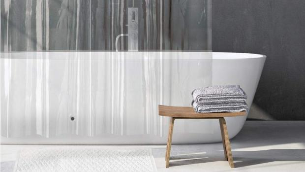 Winsford Guardian: A clean shower liner will make your bathroom much more welcoming. Credit: Amazon