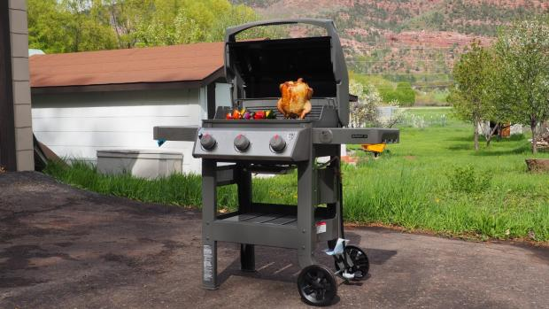Winsford Guardian: The Weber Spirit II E-310 remains the best gas BBQ we've tested. Credit: Reviewed