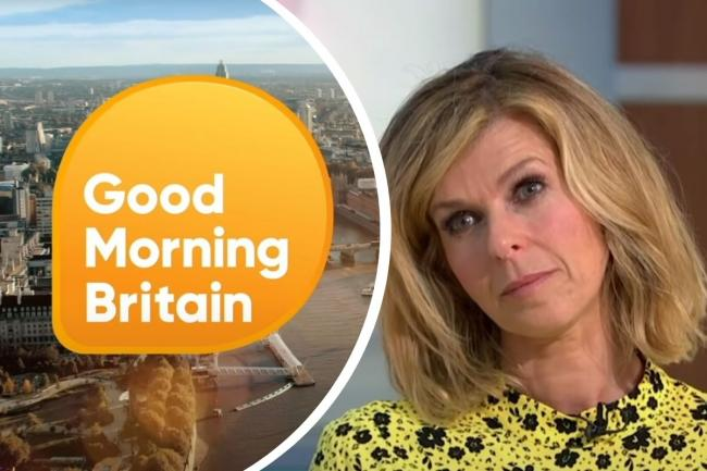 Kate Garraway returns to ITV's Good Morning Britain after three months away. Pictures: ITV