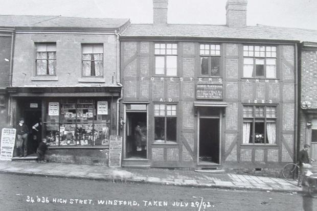 The  Foresters Arms  in 1892