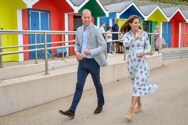 The Duke and Duchess of Cambridge visit Barry Island