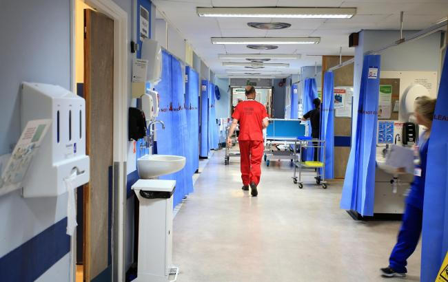 NHS staff are working hard to prevent the spread of coronavirus within Mid Cheshire Hospitals sites. Image: Peter Byrne/PA Wire.