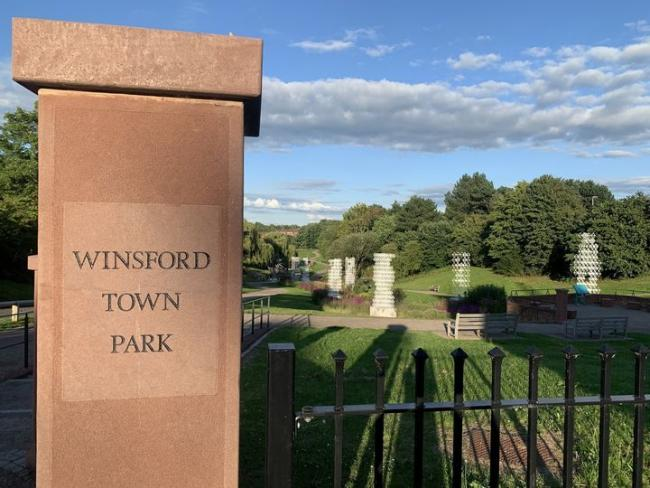A new community noticeboard is being installed at Winsford Town Park Picture: Jo Conchie