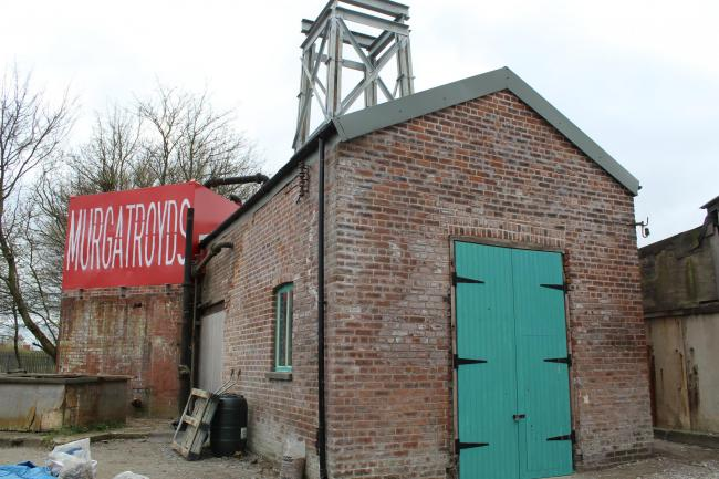The restoration of Murgatroyd's Brine Pump is nearing completion and is set to become a visitor centre